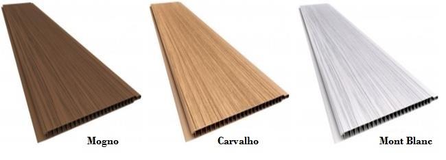 Forro de pvc Colorido madeira Rústico Plasbil