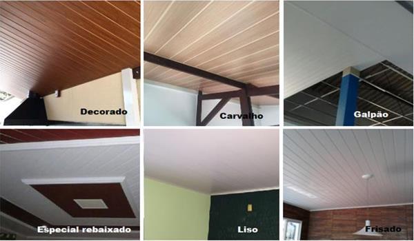 FORRO DE PVC INSTALADO