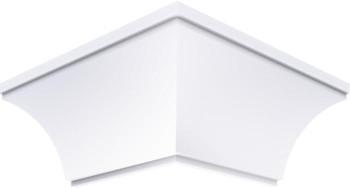 Acabamento Canto Externo Branco 4 cm