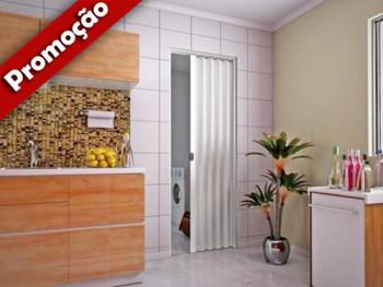 Porta Sanfonada Branca 2,10x0,80