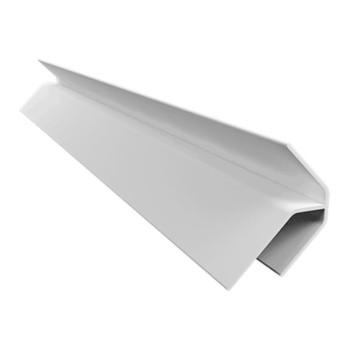 Acabamento PVC Canto Externo Branco Barra 6 m