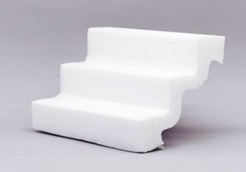 Moldura rodateto poliestireno (isopor) Gart    Ref. ST3 -    Alt 7,5 cm - Metro