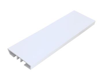 Rodapé PVC BRANCO PLASFORRO 7 cm -  METRO