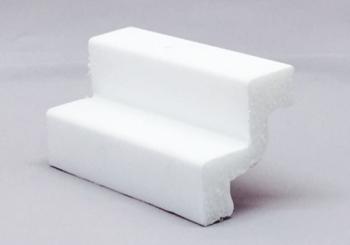Moldura rodateto poliestireno (isopor) Gart Ref. ST2 - Alt 5 cm  Metro