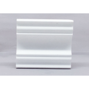 Moldura rodateto poliestireno (isopor) Gart  Ref. A - Alt 11 cm  Metro
