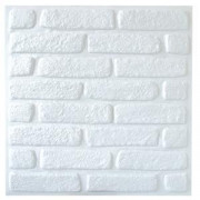 Forro Decorado especial alto relevo - tijolo branco - M²