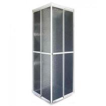 Box acrílico de Canto ( L ) - Acab Alumínio ou Fosco M²