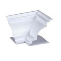 Acabamento Canto Sanca Premium Colonial Interno Branco 6 cm
