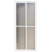 Box Acrílico Frontal Acab Alumínio Branco M²