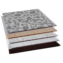 Forro de PVC Painel Decorativo LISO ESPECIAL TWB  9 mm  20 cm Larg  Barra 5 m (ou m²)