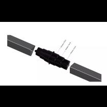 Emenda União para Tubo Metalon galvanizado ou de pvc