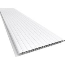 Forro de PVC BRANCO FRISADO 7 mm  20 cm x METRO QUADRADO