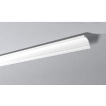 Moldura rodateto poliestireno (isopor) Gart Ref. GO - Alt 8 cm  Metro