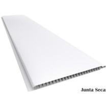 Forro de PVC LISO JUNTA SECA TWB Branco ou Cinza  9 mm  20 cm larg  Barra 4 m
