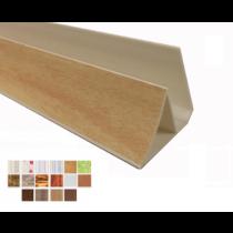 Acabamento PVC Moldura Reta Plasforro Colorido e Laminado Barra 6 m