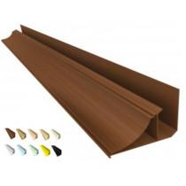 Acabamento PVC Moldura Nobre 4 cm Barra 6 mt - colorido, texturizado e rústico