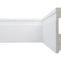 Rodapé poliestireno Plasbil PS Ref. 32 Alt 10 cm - Metro