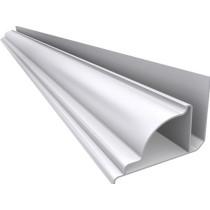 Acabamento PVC Sanca Premium Colonial 6 cm Branco Barra 3 m