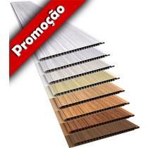 Forro de PVC LISO RELEVO RÚSTICO Plasbil 20 cm Larg 10mm m² (Barras de 1 a 6m)