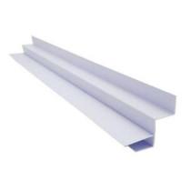 Acabamento PVC Tabica Branco 5 cm Barra 6 m
