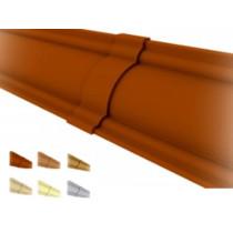 Acabamento União p/  moldura sanca premium colonial colorido, texturizado e rústico