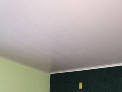 Forro de PVC Liso Branco 10 mm x Barra 2 metros x 20 cm larg
