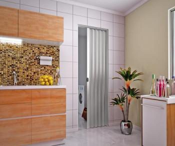 Porta Sanfonada Cinza 2,10x0,70