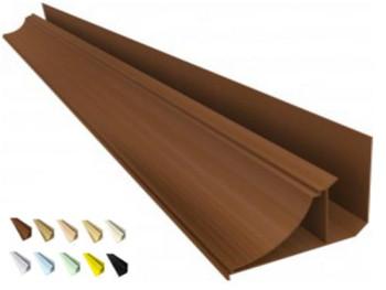 Acabamento PVC Moldura Nobre 4cm Colorido, Texturizado e Rústico Barra 6 m
