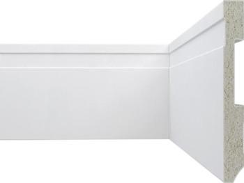 Rodapé PVC Rígido ou Poliuretano Plasbil PS Ref. 32 Alt 10 cm - Metro