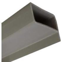Tubo Metalon de PVC para TETO e forro de PVC 40x20 Barra 6 m