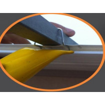 Aplicador p/ grampo (clicador) click forro para metalon