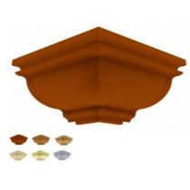 Acabamento Canto externo Sanca Premium Colonial Colorido, Texturizado e Rústico 6cm