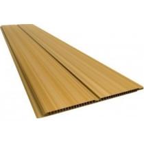 Forro de PVC FRISADO GEMINI Plasforro Cerejeira  8 mm  20 cm Larg  Barra 5 m  (ou m²)
