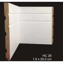 rodapé mdf cavimad Hi Collection - cod. 28 - Metro