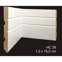rodapé mdf cavimad Hi Collection - cod. 29 - Metro