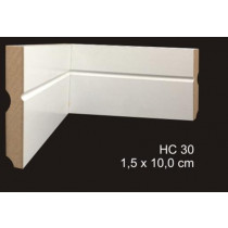 rodapé mdf cavimad Hi Collection - cod. 30 - Metro