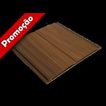 Forro de PVC FRISADO GEMINI Imbuia 20 cm Larg 8 mm m² (Barras de 2 a 6 m)