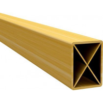 Tubo Metalon de PVC para TETO e forro de PVC 25X20 Barra 6 m